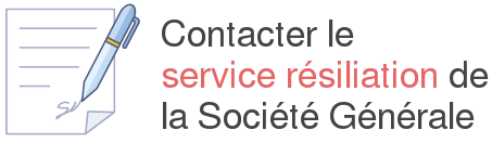 contacter service resiliation societe generale