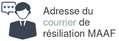 courrier resiliation maaf