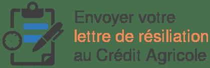 envoyer lettre resiliation credit agricole