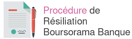 procedure resiliation boursorama banque