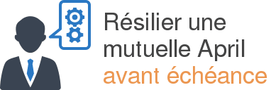 resiliation april avant echeance