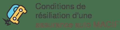 conditions resiliation assurance auto macif