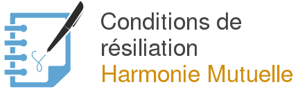 conditions resiliation harmonie mutuelle