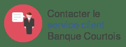 contact service client banque courtois