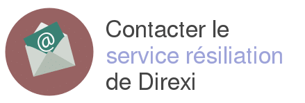 contact service resiliation direxi