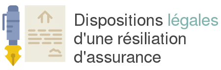 dispositions legales resiliation assurance