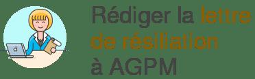 lettre resiliation agpm