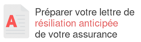 lettre resiliation anticipee assurance