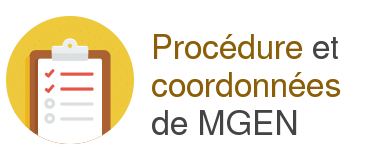 procedure coordonnees mgen