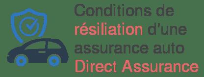 resiliation assurance auto direct assurance
