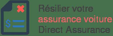 resilier assurance voiture direct assurance procedure