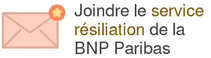 service resiliation bnp paribas