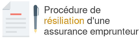 procedure resiliation assurance emprunteur