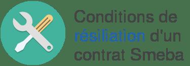 condition resiliation smeba