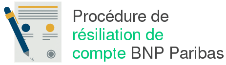 procedure resiliation compte bnp paribas