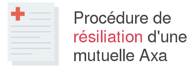procedure resiliation mutuelle axa
