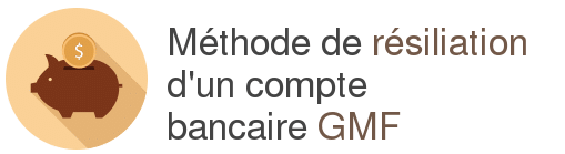 resiliation compte bancaire gmf
