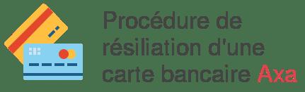 resiliation carte bancaire axa