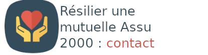 résilier mutuelle assu 2000 contact