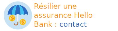 résilier assurance hello bank