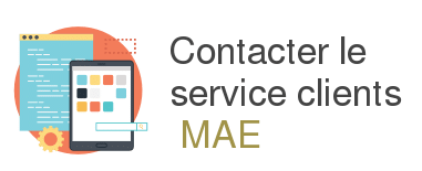 contact service client mae