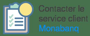 contact service client monabanq