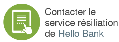 contact service resiliation hello bank