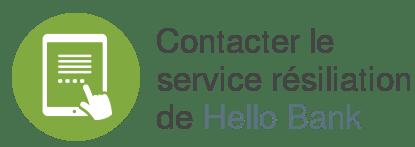 contact service resiliation hello bank