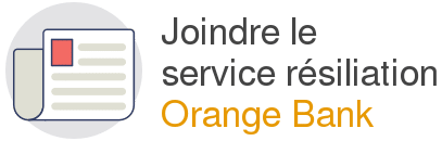 service resiliation orange bank