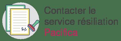 service resiliation pacifica