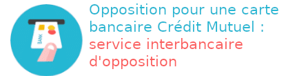 opposition carte crédit mutuelle service interbancaire