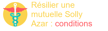 résilier mutuelle solly azar conditions