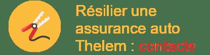 Résilier une Assurance auto Thelem contacts
