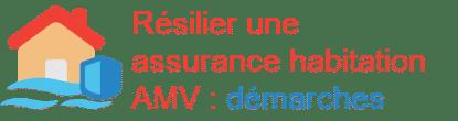 résilier assurance habitation AMV démarches