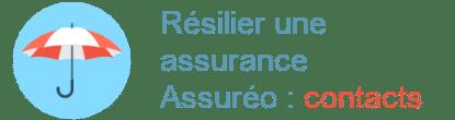 résilier assurance assuréo contacts
