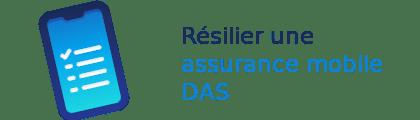 résilier assurance mobile das
