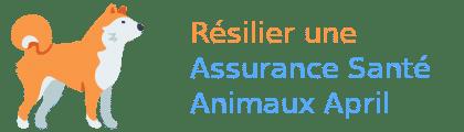 résilier assurance animaux april